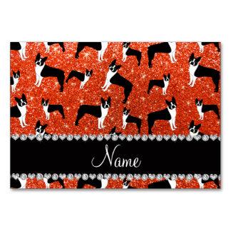 Terrier anaranjado de neón conocido de encargo de