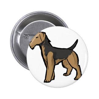 Terrier de Airedale Pin
