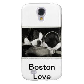 Terrier de Boston Funda Para Galaxy S4