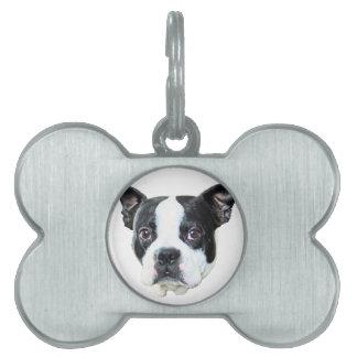 Terrier de Boston Placas Mascota
