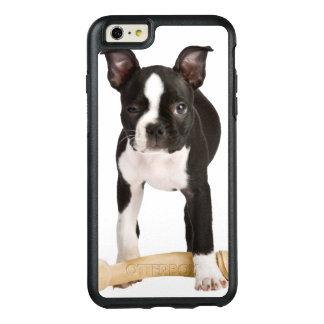 Terrier de Boston que guarda el hueso twisty Funda Otterbox Para iPhone 6/6s Plus
