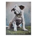 Terrier de Jack Russell Tarjeta Postal