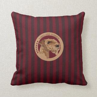 Terrier de lakeland del perro almohadas