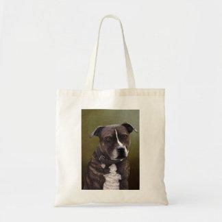 Terrier de Staffordshire Bolsa Tela Barata