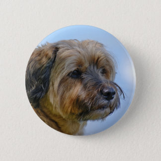 Terrier Design Button