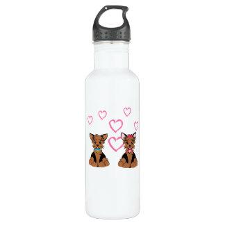 Terrier Dogs Liberty Bottle