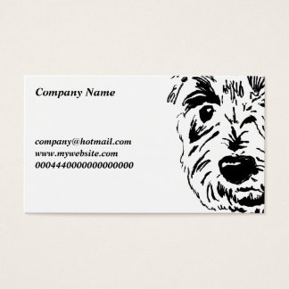 Terrier Face, Company Name, Business Card