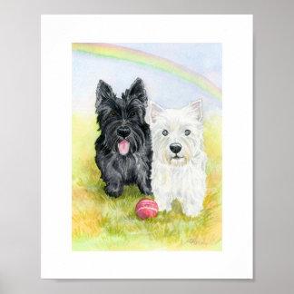 Terrier Friends print
