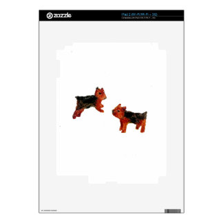 Terrier Fun Dog Art iPad 2 Decal