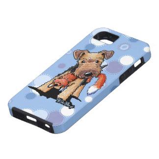 Terrier galés astuto iPhone 5 carcasa