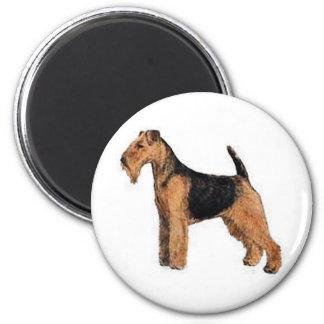 Terrier galés imán redondo 5 cm