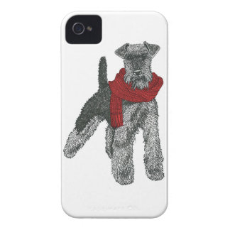 Terrier galés rojo iPhone 4 carcasas