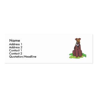 Terrier galés tarjetas de visita