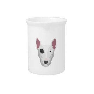 Terrier Head Drink Pitcher
