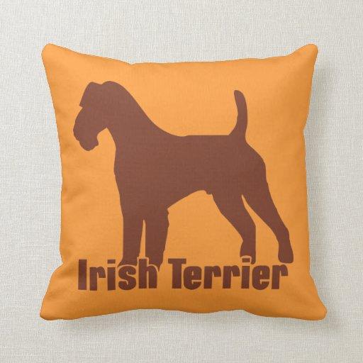 Terrier irlandés cojin