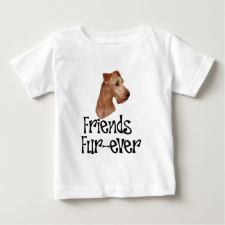 """Terrier irlandés """"Piel-nunca de los amigos """" Camisas"""