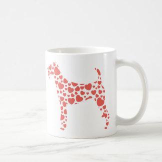 Terrier irlandés tazas de café