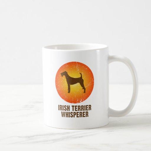 Terrier irlandés taza