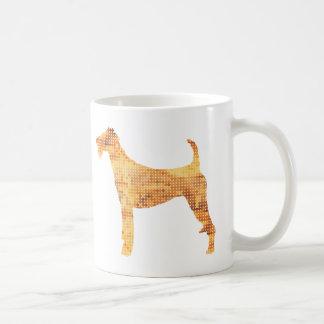 Terrier irlandés taza de café