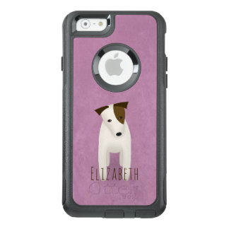 terrier jack russell with head tilted cute dog OtterBox iPhone 6/6s case