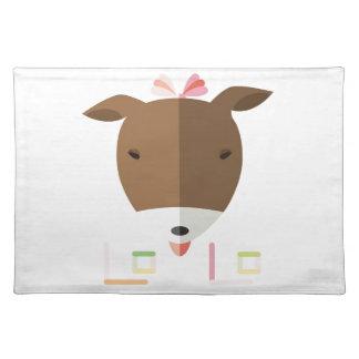 Terrier Lolo-origami de Jack Russell Mantel