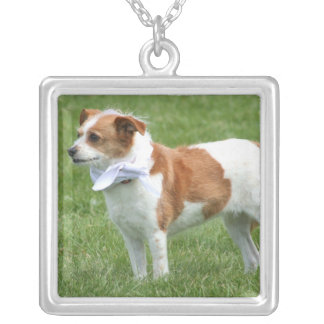 Terrier mix dog necklace
