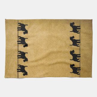 Terrier Muddy Paws Towels