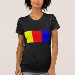 Terrier multicolor camiseta