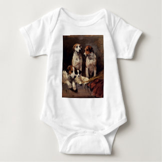 Terrier Pet Dogs Animals Painting Tee Shirt