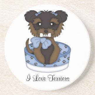 Terrier Pup (Boy) Coaster