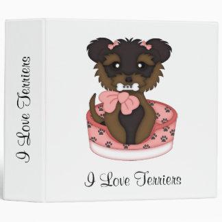 Terrier Pup (Girl) Binder