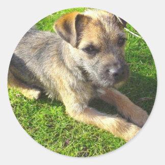 Terrier Puppy Sticker