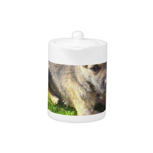 Terrier Puppy Teapot