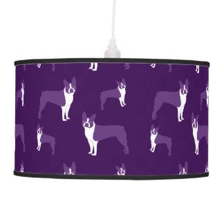 Terrier púrpura de Boston