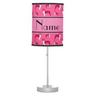 Terrier rosado conocido personalizado de Boston