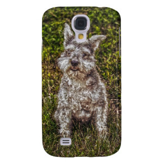 Terrier Schnauzer Pet Dog-lover's Dog Breed Galaxy S4 Cover