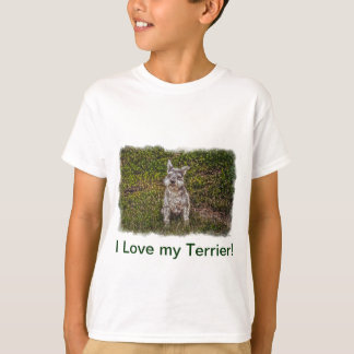 Terrier Schnauzer Pet Dog-lover's Dog Breed T-Shirt