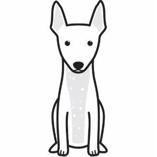 Terrier sin pelo americano esculturas fotográficas