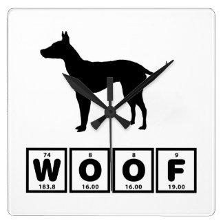 Terrier sin pelo americano reloj