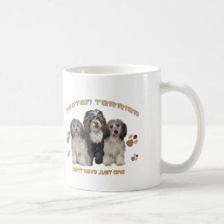 Terrier tibetano no puede tener apenas uno taza de café