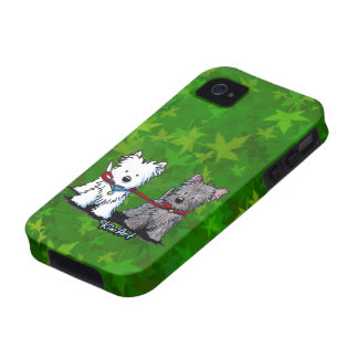 Terrier Walkers iPhone 4/ 4S Case Vibe iPhone 4 Covers