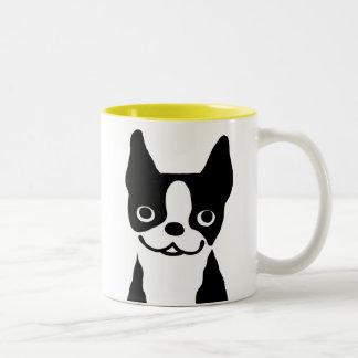 Terrieres de Boston - diseño lindo del perro Tazas