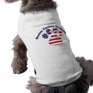 Terrieres de Boston para Obama.png Camisas De Mascota