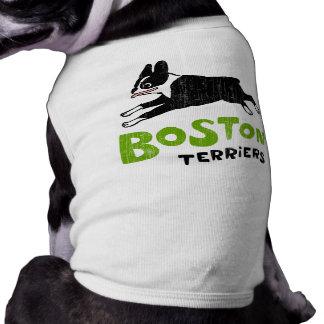 Terrieres de Boston Ropa De Perro