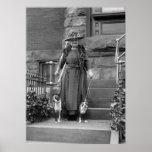 Terrieres de Boston y moda de los años 20 Impresiones