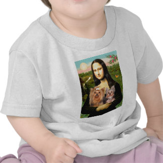Terrieres de Yorkshire (7and19) - Mona Lisa Camisetas