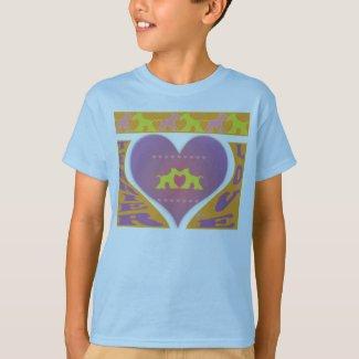 Terriers Connect Through Love (TM) shirt