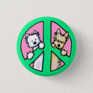 Terriers For Peace Button