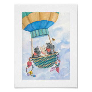 Terriers In The Air! Poster