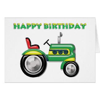 Terriffic Tractor Birthday Card